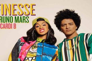 Bruno Mars collaborates with Cardi B