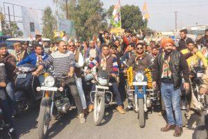 Protest rally in Dehradun