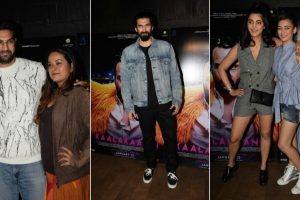 B-town celebrities galore at 'Kaalakaandi's special screening