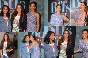 Deepika Padukone with sister Anisha on Vogue BFF