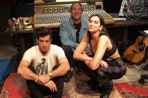 Dua Lipa hits studio with Mark Ronson, Diplo