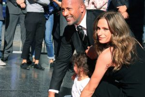 Dwayne Johnson's daughter excited to be Golden Globe ambassador