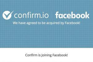 Facebook acquires Confirm.io biometric ID verification startup