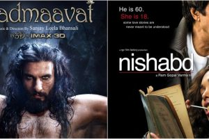 'Padmaavat' to 'Nishabd': 7 films that got caught in controversy