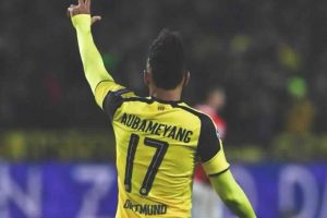 Striker Aubameyang causing trouble for Borussia Dortmund