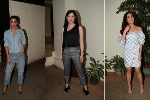 Photos: TV stars make screening of 'Haq Se' special