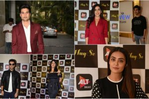 In pics: B-town celebs at ALTBalaji's 'Haq Se' trailer launch