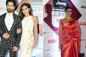 'Padmaavat' actors Deepika-Shahid win HT India's Most Stylish Awards