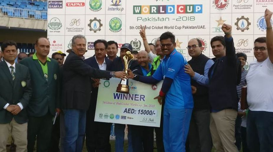 India won blind cricket world cup (Photo Credit- Twitter)