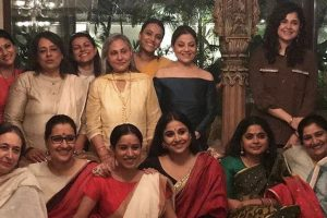 Jaya Bachchan hosts special bash for female winners of FilmFare awards