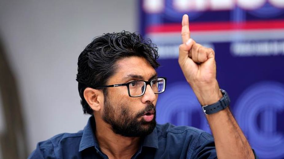 Gujarat Dalit leader Jignesh Mevani on Tuesday attacked Prime Minister Narendra Modi asking why atrocities were being committed against Dalits, minorities and farmers in India