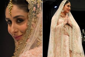 Kareena Kapoor turns bride at Doha Fashion Show