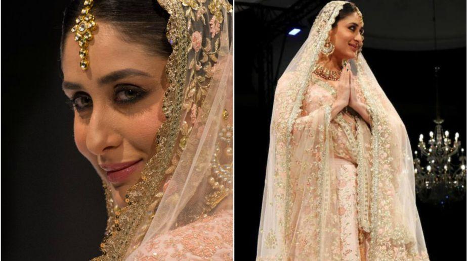 Kareena Kapoor, Bride, Doha, Fashion Show, Vikram Phadnis
