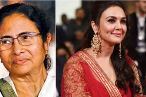 Mamata Banerjee wishes Preity Zinta on her birthday