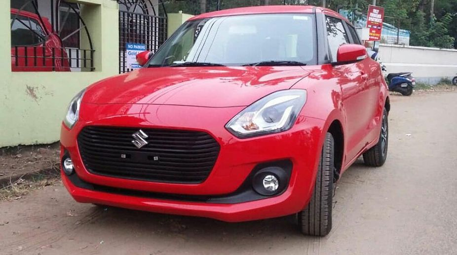 Maruti Suzuki Swift 2018 spotted in India: all-new design in pictures, launch date and more