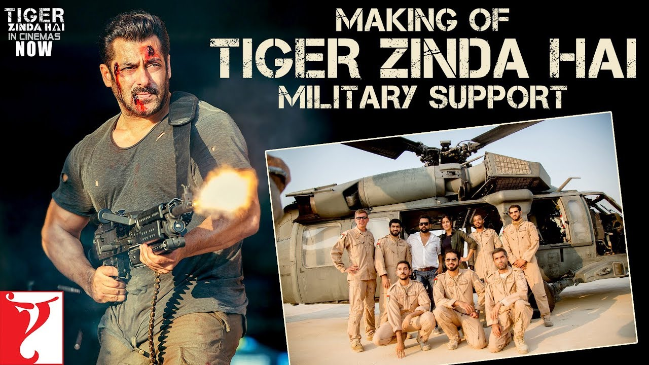 Making of Tiger Zinda Hai – Military Support