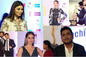 A starry affair at 10th Mirchi Music Awards 2018