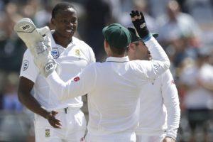 Ind vs SA: Kagiso Rabada's girlfriend 'complains' after Faf du Plessis kisses him on ground