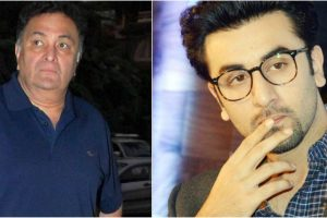 Watch: Rishi Kapoor misbehaves with female fan, Ranbir intervenes