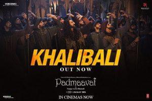 Padmaavat   Khalibali – Ranveer Singh