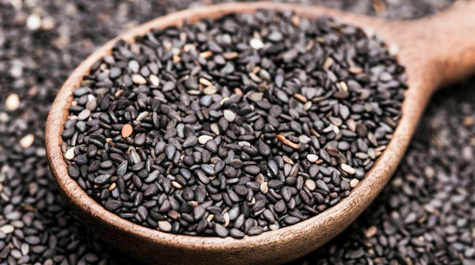 sesame seeds, skin, health, beauty