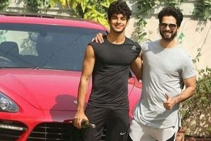 Shahid is paternal figure to me: Ishaan Khatter