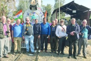 Steam engine wins hearts at Palampur