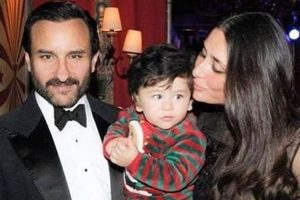 Little munchkin Taimur wins the hearts again by combing his hair adorably