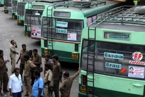 Transport strike in TN enters 3rd day, govt says many staff returning to work