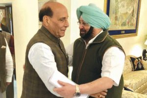 Rajnath hails Punjab govt's success against gangsters