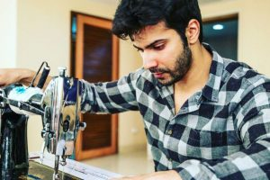 In Pictures: Varun Dhawan showing the art of 'Sui Dhaaga'