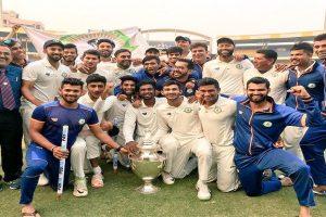 Vidarbha win maiden Ranji Trophy