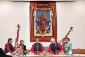 Musical tribute to Swami Vivekananda