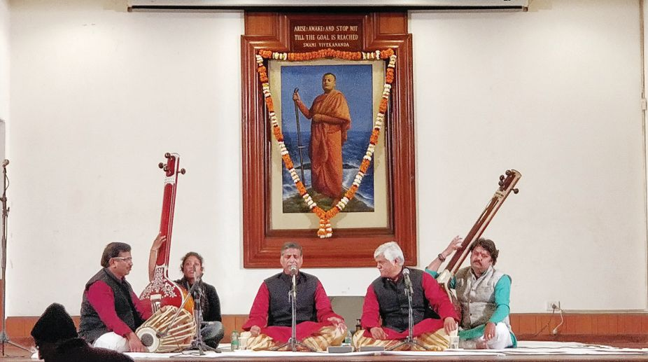 Musical Tribute to Swami Vivekanand