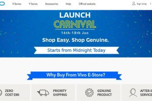 Vivo opens its online E-store in India, 'Launch Carnival' scheduled for January 16 to 18