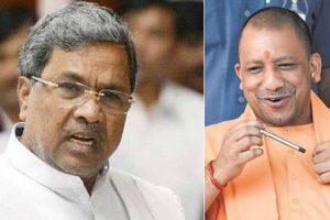 Don't lecture on development: Siddaramaiah to Yogi Adityanath