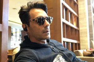 Arjun Rampal shoots in Chandigarh for 'Paltan'