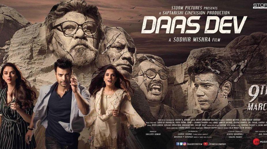 Daas Dev, Sudhir Mishra, Richa Chadha, Aditi Rao Hydari, Rahul Bhatt