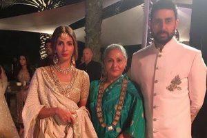 Watch: Jaya Bachchan shakes leg on Govinda's 90s hit song at Mohit Marwah's wedding