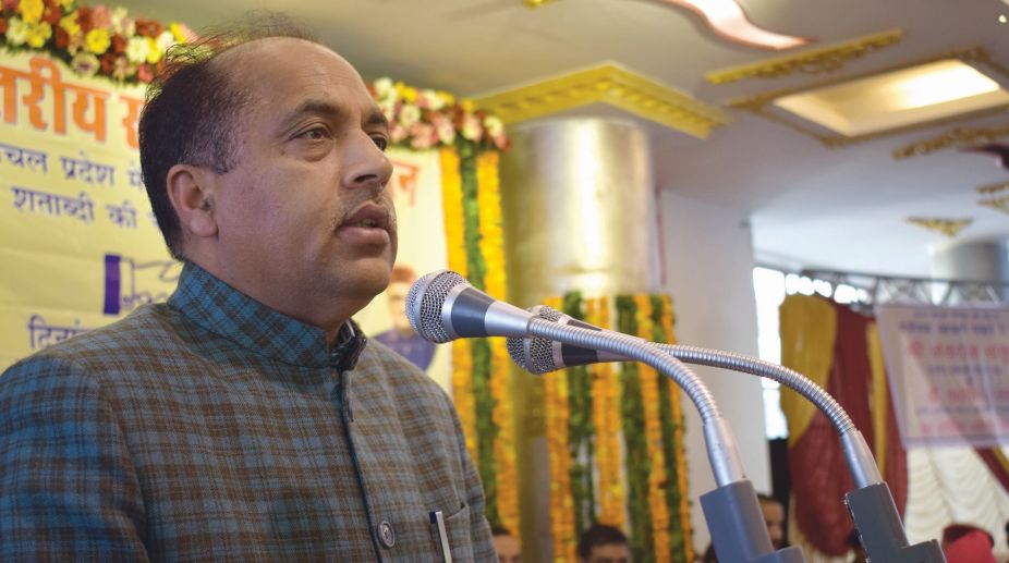 Jai Ram Thakur, Himachal CM, Education, Moral Values,