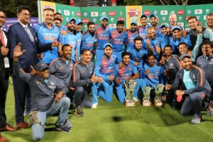 India win 3rd T20I to clinch series