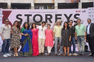 In pics: '3 Storeys' trailer launch in Mumbai chawl