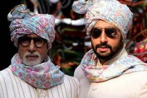 Paa Amitabh Bachchan shares adorable birthday wishes for son Abhishek Bachchan