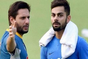 My relation with Virat Kohli is not dictated by political situation: Shahid Afridi