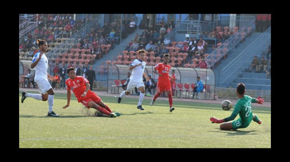 Aizawl FC vs Indian Arrows