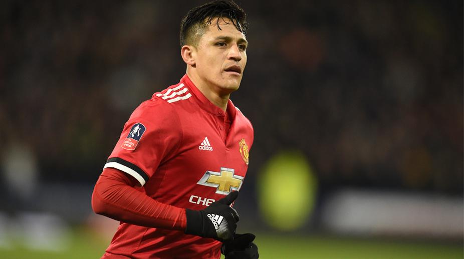 Alexis Sanchez, Manchester United F.C., UEFA Champions League, Sevilla vs Manchester United