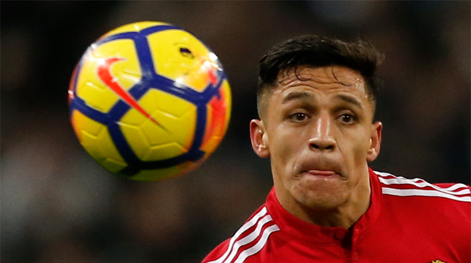 Alexis Sanchez, Manchester United F.C., Premier League, Manchester United vs Huddersfield Town