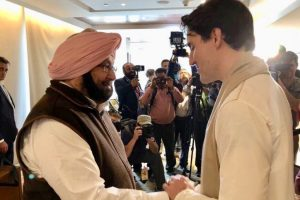 Canadian PM visits partition museum