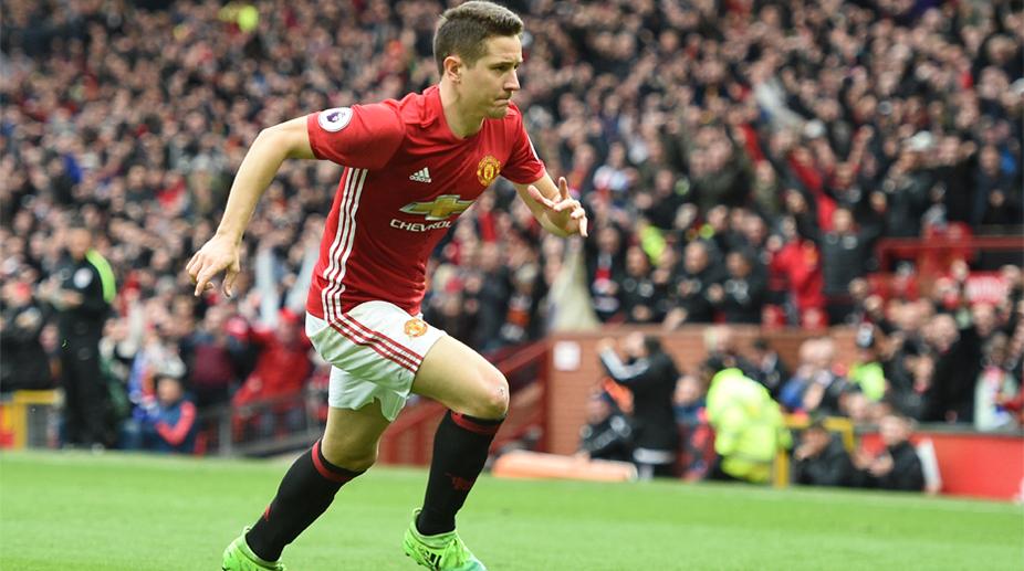 Ander Herrera, Manchester United F.C., Premier League, UEFA Champions League