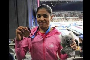 Kovind lauds Aruna Reddy for bagging bronze in World Gymnastics
